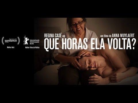"""O sucesso do filme """"Que Horas Ela Volta?"""", estrelado por Regina Casé, e entrevista a diretora Anna Muylaert"""