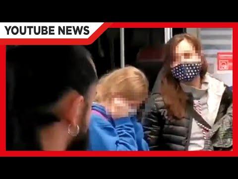Mädchen von Coronaleugnern unter Druck gesetzt um Maske abzusetzen