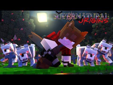 Minecraft Supernatural Origins - VAMPIRES vs WEREWOLVES - #1 (Minecraft Werewolf Roleplay)