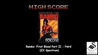 Rambo: First Blood Part II [Hard] (ZX Spectrum Emulated) by gazzhally