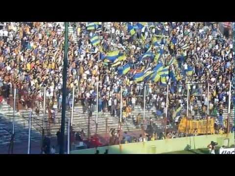 Video - Rosario Central Barras Los Guerreros entrada en la cancha Huracan 2013 02 25 - Los Guerreros - Rosario Central - Argentina