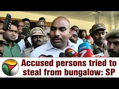 Video Jayalalitha Kodanadu murder: Accused persons tried to steal from bungalow, says SP Murali Rambha download in MP3, 3GP, MP4, WEBM, AVI, FLV January 2017