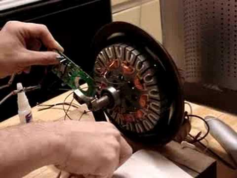 Cieling Fan Motor to BLDC Motor conversion, Experiment 1