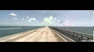 Marathon (FL) United States  city photos : Driving along Overseas Highway, Marathon, FL 33050, USA
