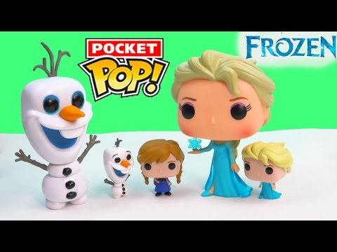 Princess - SUBSCRIBE: http://www.youtube.com/channel/UCelMeixAOTs2OQAAi9wU8-g?sub_confirmation=1 It's Disney Frozen Pop Vinyl figures but in mini! These cute Pocket Pop! are so cute, snowman Olaf, ...