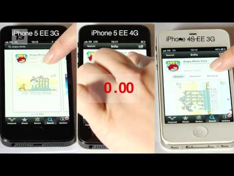 How fast is 4G on the iPhone 5? We put 3G vs 4G in a range of speed tests