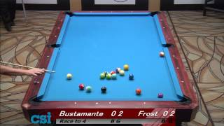 CSI 2013 US Open One Pocket Frost Vs Bustamante