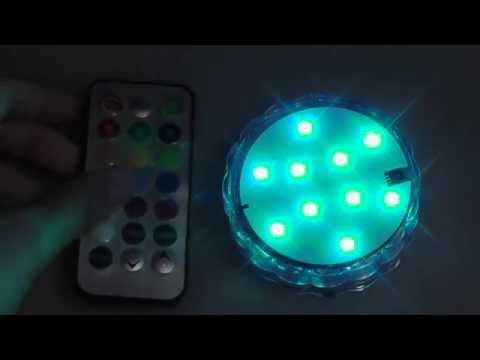 REVIEW: Amoker 4X LED Wireless Waterproof Lights