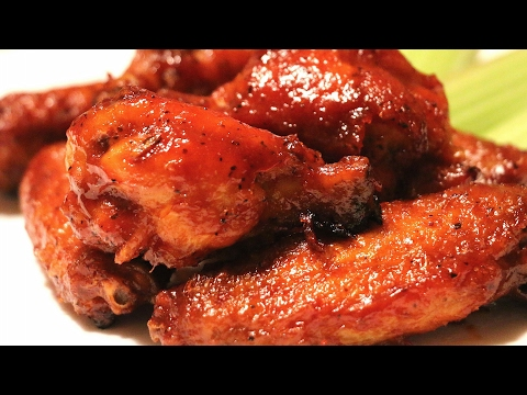 Alitas de Pollo con Salsa Bbq|Honey Bbq Chicken Wings|Sabor en tu Cocina|Ep. 133
