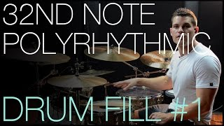 Nonton 32nd Note Polyrhythmic Fill #1 by Troy Wright - Drum Lesson Film Subtitle Indonesia Streaming Movie Download