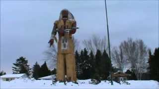 Ironwood (MI) United States  city photo : World's Tallest Fiberglass Indian- Ironwood, Michigan