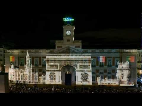 Video Maping Presidencia de España de la UE