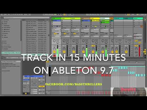 Make a Tech House Track in 15 Minutes with DAW Ableton Live - Tutorial Walkthrough Edm