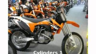 1. 2011 KTM SX 250 Info and Details