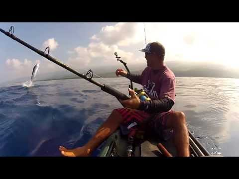 BLACK MARLIN – KAYAK FISHING HAWAII, Nov 2013