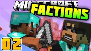 Minecraft FACTIONS CHALLENGE #2 'BASE BUILDING!' - Vikkstar Vs SSundee Season 2