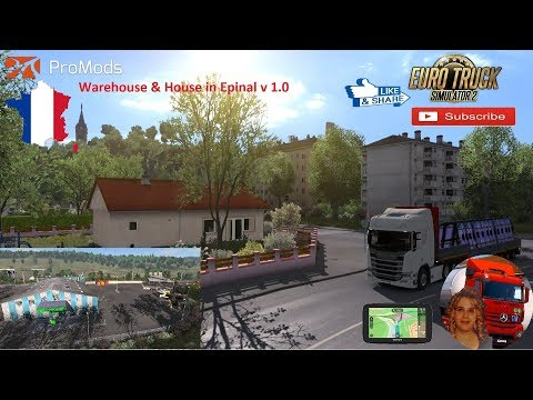 Warehouse & House in Epinal v1.0