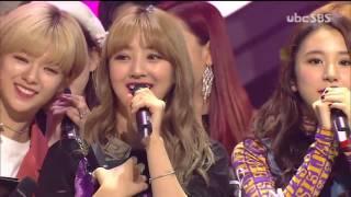 Download Lagu [5TH WIN] 161106 TWICE (트와이스) TT 1위 NO.1 (Fifth Win Speech) + BLACKPINK Cheers for TWICE @ Inkigayo Mp3