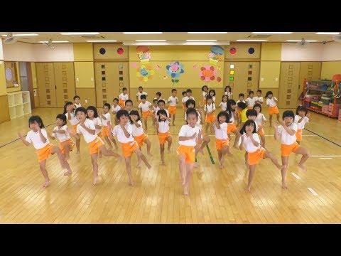 日本全国でレッツ☆うみダンス in あはごん保育園のみなさん
