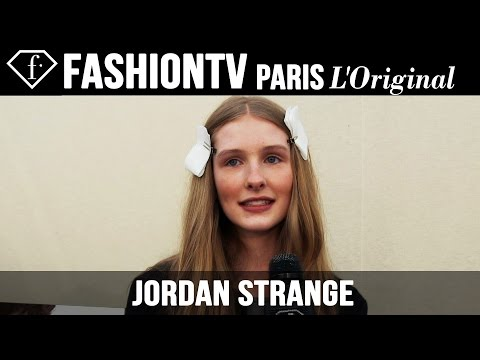 Fashion TV - http://www.FashionTV.com/videos MODEL TALK - Jordan Strange talks to FashionTV about her personal style. For franchising opportunities with FashionTV, CONTACT US: http://www.fashiontv.com/contact...