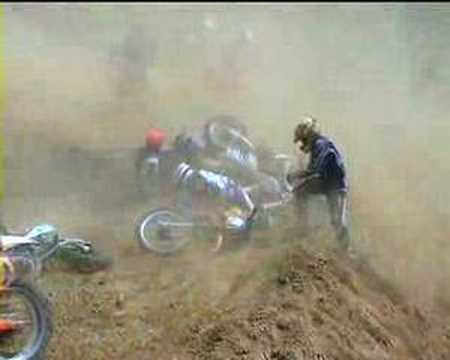 Motocross mishaps 