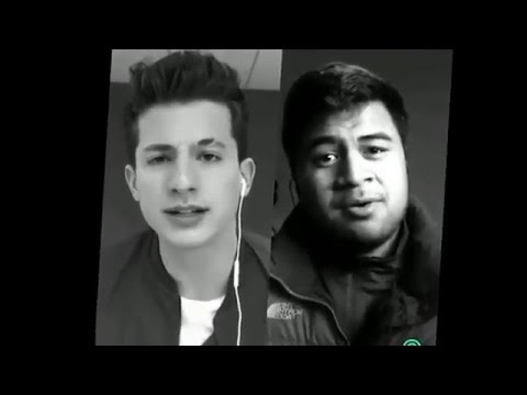 One Call Away - Charlie Puth (smule) With Paul Ieti