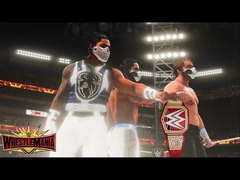 WWE 2K19 Custom Story - THE SHIELD REUNITES At WrestleMania 35 (Brock Lesnar vs Seth Rollins)