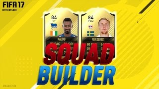 FIFA 17 Squad Builder - AMAZING CHEAP 60K INFORM DEADLY DUO! w/ SIF Forsberg + IF Kalou! ► Follow me on Twitter! http://twitter.com/HuttonPlays ► Check out m...