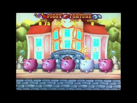 Piggy Fortune  New 2016 Slot Comma 6A con omologa al 70%