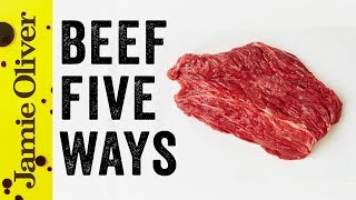 5 Things to do With…. Beef | Food Tube Classic Recipes | #TBT by Jamie Oliver