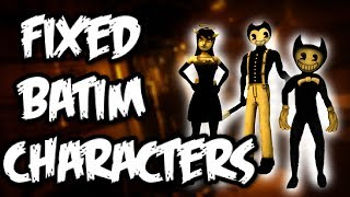 [BATIM SPEED EDIT] Fixed BATIM Characters New Version l JHH_114 YT l Part 1