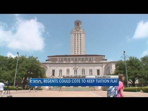 tuition - The University of Texas System's Board of Regents will vote this week on a plan to avoid tuition increases for in-state students.