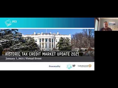 IPED Historic Tax Credit Market Update (January 7, 2021)