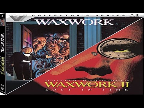 Vestron Video Collector's Series WAXWORK/WAXWORK 2: LOST IN TIME Blu Ray