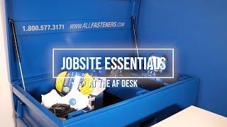 At the AF Desk | Jobsite Essentials