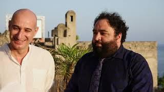 Andrea Magnani e Nicola Nocella con Easy all'Ischia Film Festival 2018