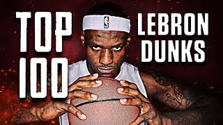 Download Video Top 100 LeBron James Dunks of All-Time ᴴᴰ MP3 3GP MP4
