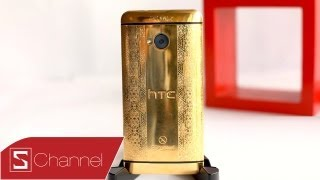 Schannel - HTC One Gold 24K, khắc hoa văn - CellphoneS