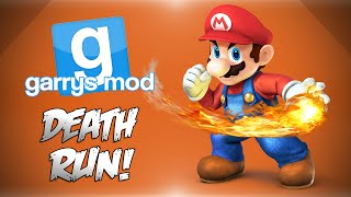 GMod Deathrun! - Super Mario Bro's, Bowsers Castle, Trolling&More! (Funny Moments)