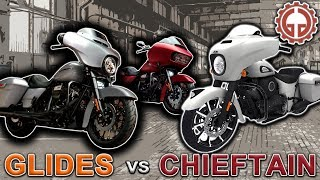 7. Harley Street Glide vs. Indian Chieftain