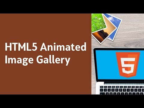 HTML5 Programming Tutorial | Learn HTML5 Animated Image Gallery - Introduction