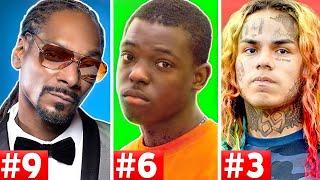 Video 10 Rappers That Are Facing Life In Prison (Tekashi 6ix9ine, Snoop Dogg, Bobby Shmurda) MP3, 3GP, MP4, WEBM, AVI, FLV Desember 2018