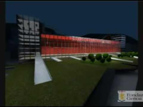 Plan de restructuración del Luigi Ferraris en 3D
