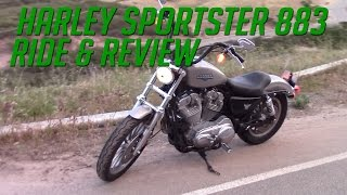 6. Harley Davidson Sportster 883 Ride & Review