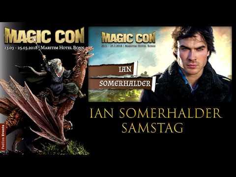 MagicCon(2018) Sa. Panel Ian Somerhalder