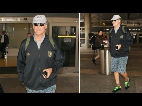 Will Ferrell Asked About Covering The Royal Wedding Upon Arrival In L.A. From London