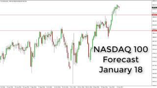 NASDAQ100 Index - NASDAQ Technical Analysis for January 18 2017 by FXEmpire.com