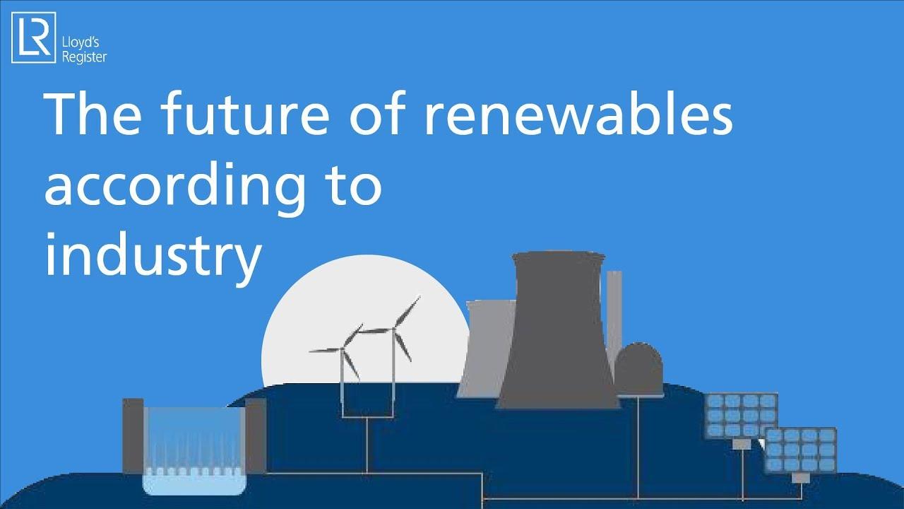 The future of renewable energy
