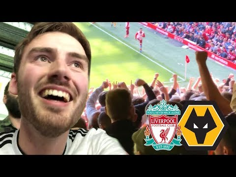 WOLVES FANS TROLL LIVERPOOL THE MOMENT MAN CITY WON THE LEAGUE! Liverpool Vs Wolves Match Day Vlog