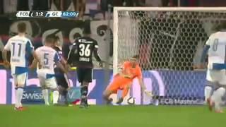 Basel vs. Grasshopper  2 - 3 All Goals (Super League - 8 November 2015)